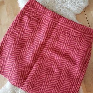 The Loft // angled stripes faux pockets